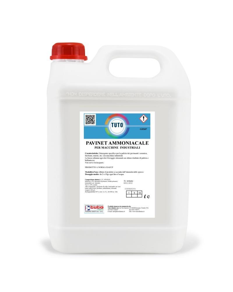 detergente per lavapavimenti professionale tuto chimica