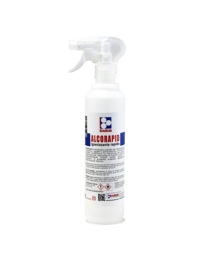 spray igienizzante superfici alcorapid