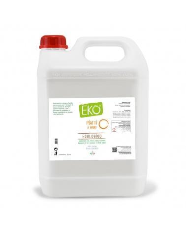 detersivo ipoallergenico piatti tanica 5 litri eko
