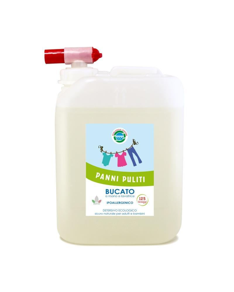 Detersivo lavatrice ecologico panni puliti - 125 Lavaggi