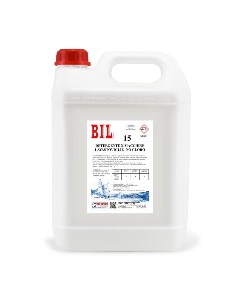 Detersivo lavastoviglie senza cloro Bil 15 Tuto Chimica
