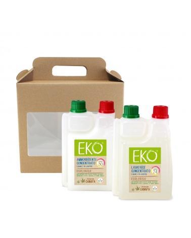 kit detersivi ecologici Eko