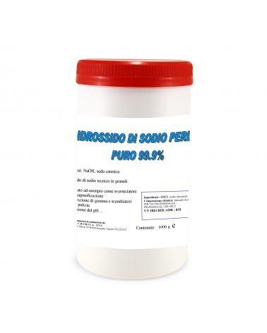 Idrossido di sodio perle puro 99.9% 1Kg